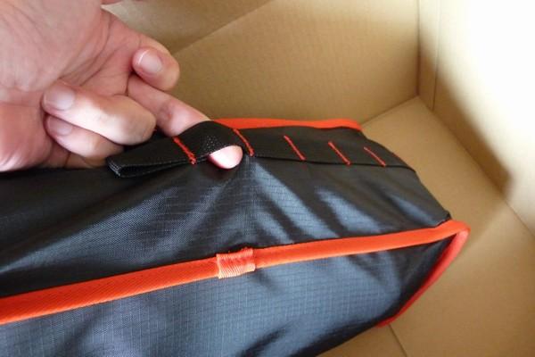 SiSO-LAB☆Linkax ロングバックタイプ ラウンジチェア。ケースは予想外にしっかりしている。