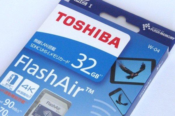 SiSO-LAB☆東芝FlashAir SD-UWA032G W-04。設定ツール無くてもワイヤレス接続可能。