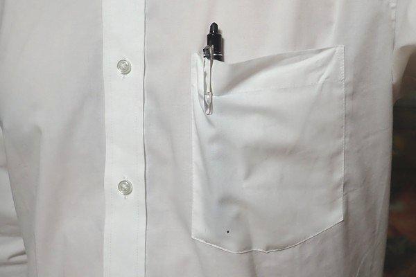 SiSO-LAB☆フリクションボール、ポケットにできたシミを消す方法。