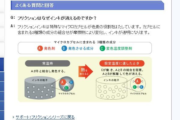 SiSO-LAB☆フリクションボール、ポケットにできたシミを消す方法。インクが消える原理。
