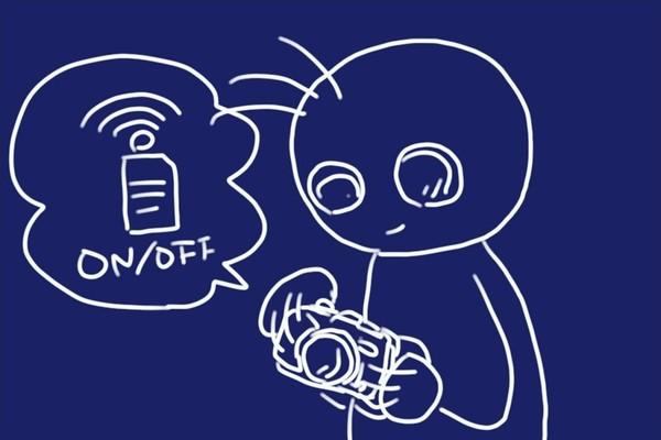 SiSO-LAB☆東芝無線LAN搭載SDメモリカードFlashAir W-04。デジカメで無線LANをオン・オフ。