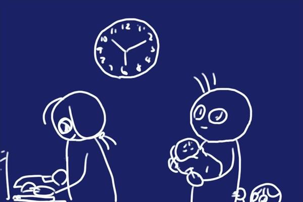 SiSO-LAB☆カシオ アナログ掛時計 スムーズ運針 IQ-132-5JF。