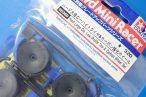 TOYz BAR◆95369 ハード大径ローハイトタイヤ&カーボン強化ホイール/ミニ四駆グレードアップパーツ