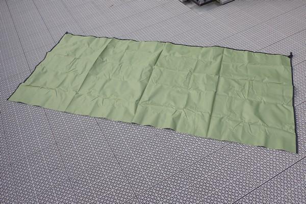 SiSO-LAB☆YUEDGEレジャーシート、元通りに畳む方法。まずは広げてみるよ。