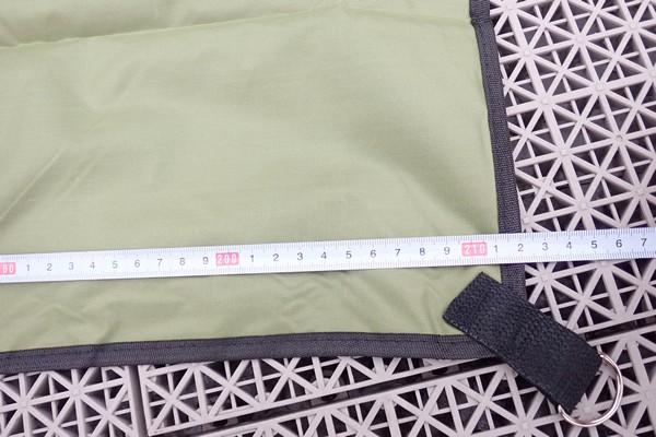 SiSO-LAB☆YUEDGEレジャーシート、元通りに畳む方法。サイズ測定。商品説明通り。