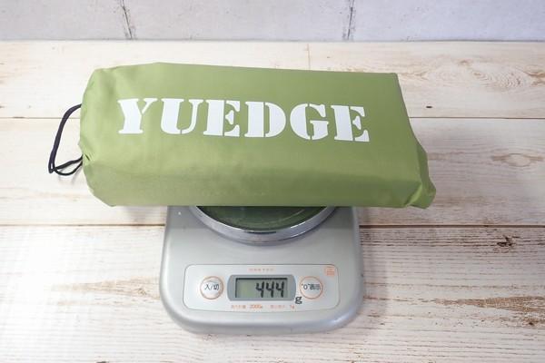 SiSO-LAB☆YUEDGEレジャーシート。重さ測定。