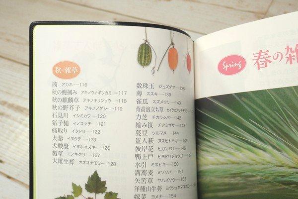 SiSO-LAB☆文庫簿サイズのポケット図鑑、雑草さんぽ手帖。目次。