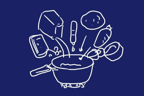 SiSO-LAB☆100均食材多用の簡単ブイヤベース風鍋。