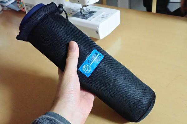 SiSO-LAB☆モンベル アルパインサーモボトル0.9L。100均ペットボトルカバーを改造してカバー製作。