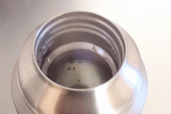 SiSO-LAB☆モンベル アルパインサーモボトル0.9L。保温性能実験。湯気モクモク。
