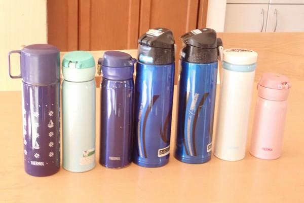 SiSO-LAB☆サーモスのステンレスボトル。我が家では好評愛用中。