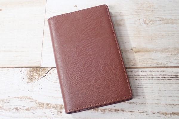 SiSO-LAB☆レイメイJWP5003 ポケットシステム手帳。ブラウン。