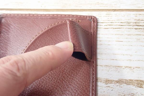 SiSO-LAB☆レイメイJWP5003 ポケットシステム手帳。ブラウン。ペンホルダ。異様に大きい。