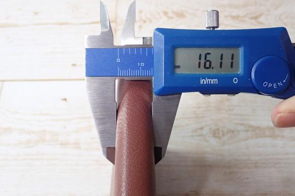 SiSO-LAB☆レイメイJWP5003 ポケットシステム手帳。厚さ測定。