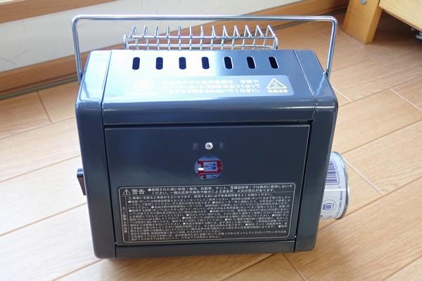 SiSO-LAB☆ニチネン ミスターヒートKH-011。初燃焼の儀。カセットボンベ(CB缶)装着。