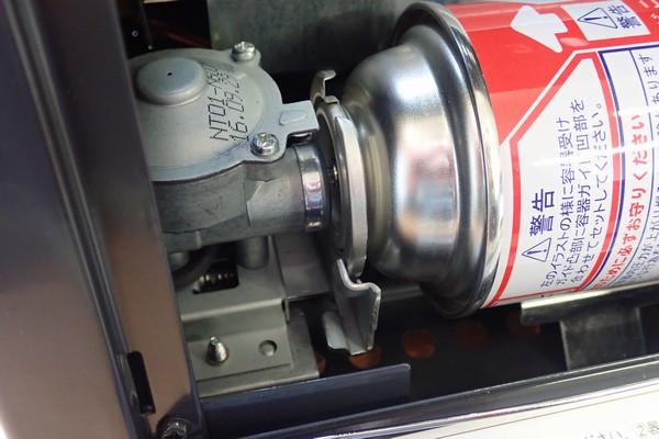 SiSO-LAB☆ニチネン ミスターヒートKH-011。初燃焼の儀。カセットボンベ(CB缶)外す方法。