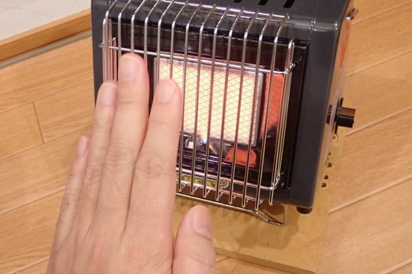 SiSO-LAB☆ニチネン ミスターヒートKH-011。初燃焼の儀。暖かさチェック。