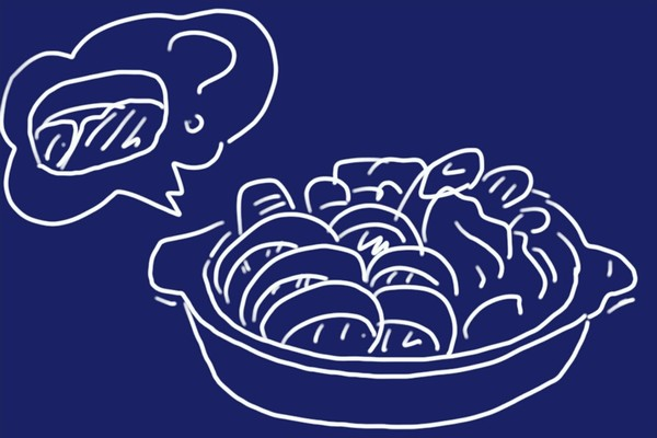さとふるでふるさと納税。猪肉スライスの詰合せ 1.2kg(佐賀県唐津市)寄付金額10,000円也。
