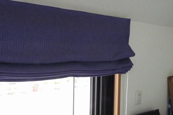 SiSO-LAB☆シェード式カーテンのチェーンが切れたので修理。チェーンの長さが足りないのでこれぐらいで調整。