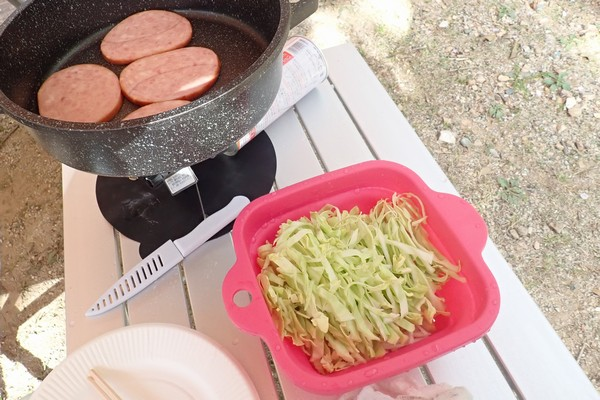 SiSO-LAB☆アウトドア用 ロール式 折りたたみ式 テーブル。料理とか。