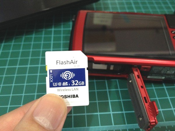 SiSO-LAB☆OLYMPUS TG-5。FlashAir W-04。
