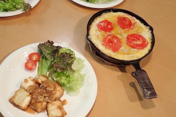SiSO-LAB☆ニトスキ!トマトローズのスパニッシュオムレツ。できあがり。