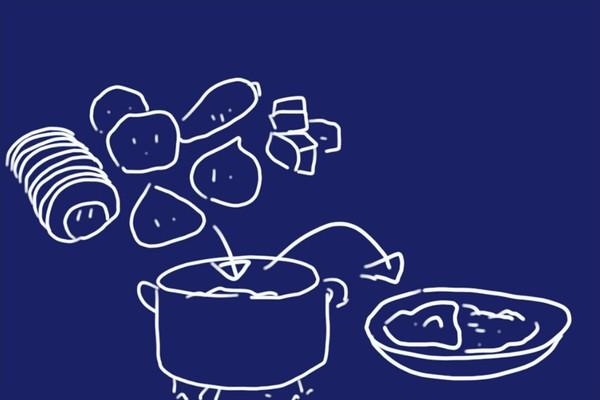 SiSO-LAB☆ふるさと納税ジビエ唐津猪肉スライスの詰め合わせ。猪バラ肉はカレーに使うとおいしい!