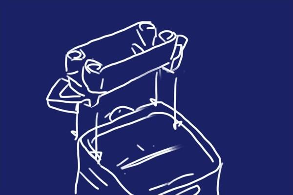 釣り針を通すだけでエサが針に付く!MORIGEN P-700 エサつけ名人の開封の儀的レビューと、折りたたみバケツに水平に取り付けてみる。