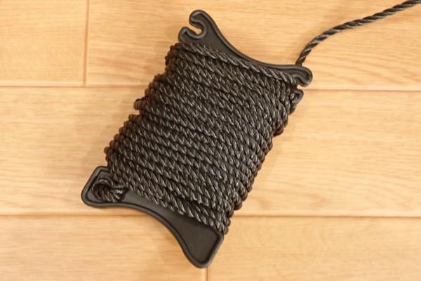 SiSO-LAB☆TAKAMIYA H.B CONCEPT 活かし水くみ ブラック 21cm。10mロープ付き。