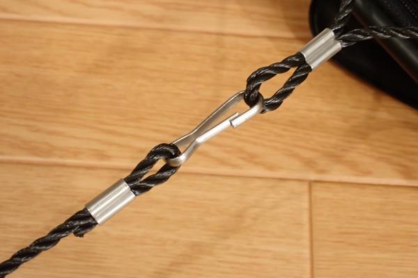 SiSO-LAB☆TAKAMIYA H.B CONCEPT 活かし水くみ ブラック 21cm。ロープとバケツの結合部。