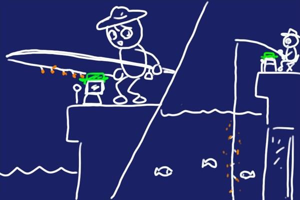 サビキ釣りで釣れない時の救世主、エサつり名人、デビュー、釣果良好。スピーディにエサ付け、手も汚れず手返し素早く。