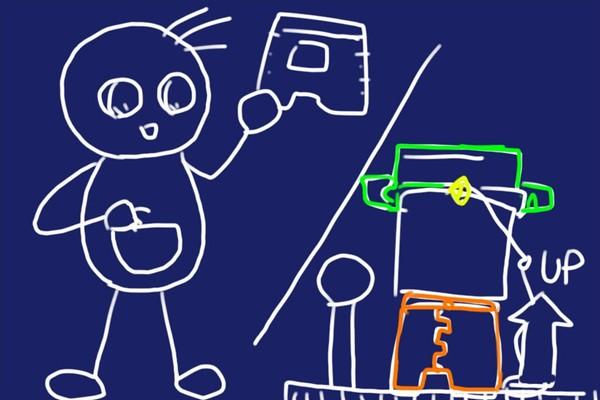 SiSO-LAB☆モリゲン エサつけ名人と樹脂製コンパクトチェア。