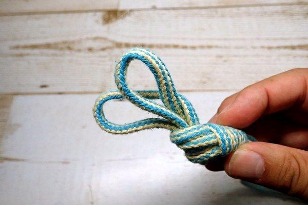 SiSO-LAB☆釣りリールのライン、末端処理。ダブルエイトノットループの結び方。