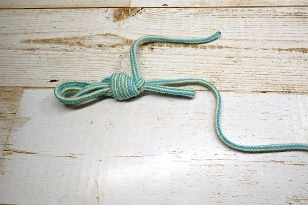 SiSO-LAB☆釣りリールのライン、末端処理。ハーフヒッチ。