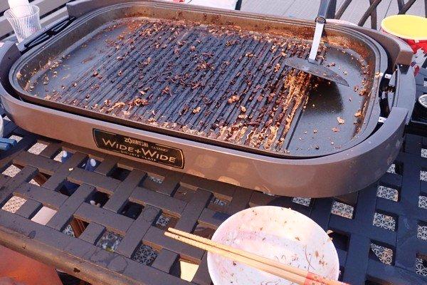 SiSO-LAB☆ふるさと納税 北海道白糠町 鹿肉ブロック。モモ肉をジンギスカン風に。片付け、めんどい。