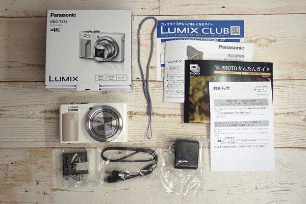 SiSO-LAB☆LUMIX DMC-TZ85開封の儀。