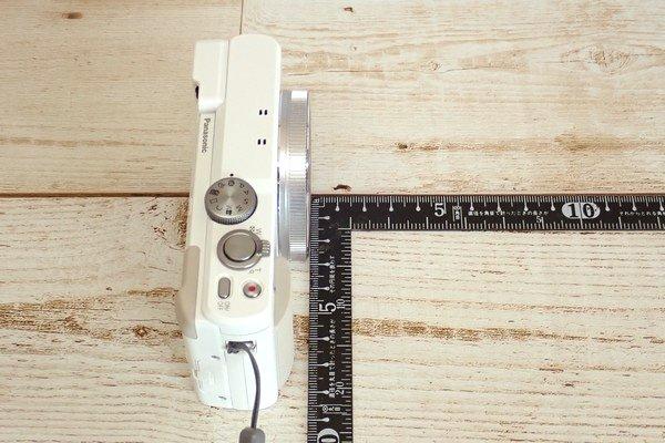 SiSO-LAB☆LUMIX DMC-TZ85開封の儀。レンズ胴体の長さ。