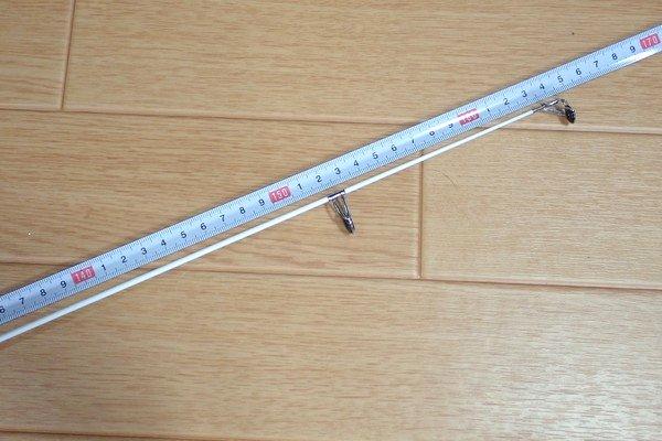 SiSO-LAB☆激安 釣り竿&リールセット。プロマリン DX 165。振り出し竿。伸ばしてみる。長さ測定。