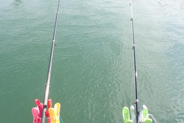 SiSO-LAB☆100均グッズで釣り竿ホルダー自作。第2弾、構造検討中。釣り場デビュー。