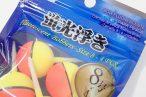 百均浪漫◆丸い球体型の蛍光浮き8号4個入。お試しに便利そう @100均 ダイソー