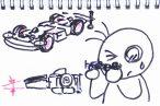 TOYz BAR◆ミニ四駆のフロントローラー・スラスト角を手軽に調整して浅くする方法を考えてみる(MSシャーシ編)。