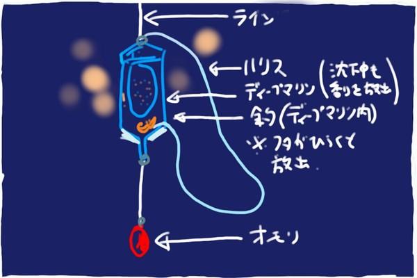 SiSO-LAB☆釣・ディープマリンでコマセをジワジワっと放出作戦。