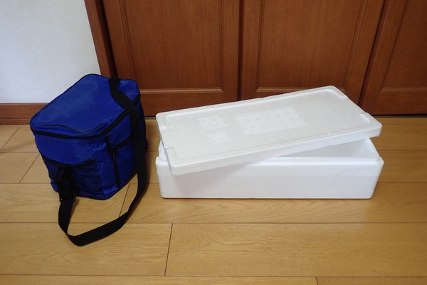 SiSO-LAB☆釣ネタ。そのうち発泡スチロール箱でもっと大きい釣り用クーラーボックスを作りたいな。