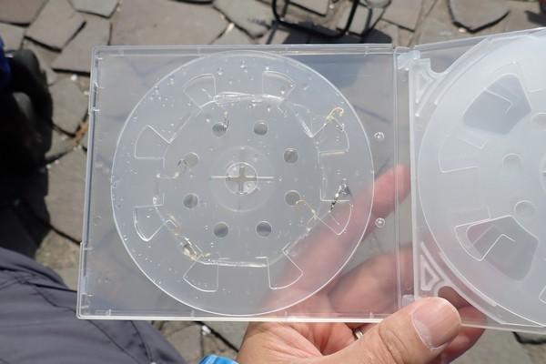SiSO-LAB☆釣・まきまきシート(小)。CD&DVDケースに収納可能。