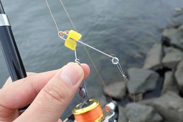 SiSO-LAB☆ハゼ釣り、チョイ投げ、ミャク釣りの融合、広域ミャク釣り仕掛け妄想。仕掛け自作。実地試験。
