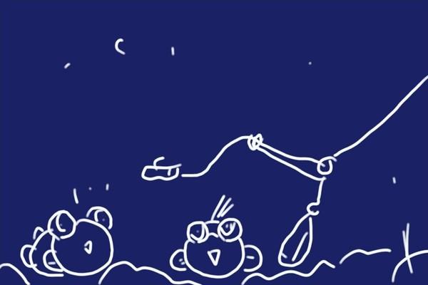 陸からやや広範囲にハゼ狙い。軽いチョイ投げ+ミャク釣りに対応できるよう、塙式ハゼ釣り仕掛けに自作軽量天秤を付けてみる。