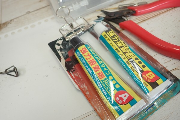 SiSO-LAB☆釣・ロッドの先端を折っちゃったので修理。