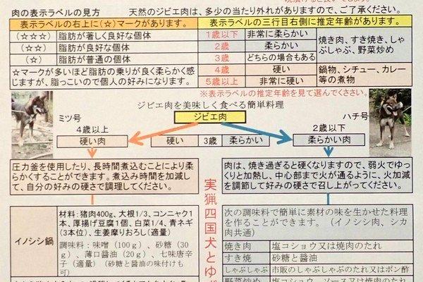 SiSO-LAB☆ふるさと納税・高知県北川村・猪肉スライス(メス)。ジビエ肉の食べ方。