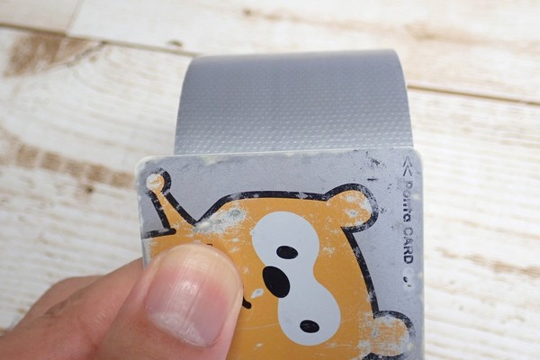 SiSO-LAB☆100均ダクトテープと養生テープをコンパクトにカードサイズで持ち運ぶ。