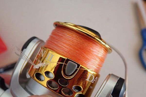 SiSO-LAB☆釣・ダイソーのジグロックで初めてのルアーフィッシング。力糸として4号ハリスを追加。